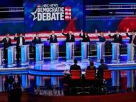 Lo que debe saber sobre el debate presidencial demócrata de esta noche