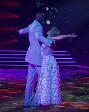 Lamar Odom brought his partner Peta Murgatroyd to tears with his waltz.