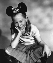 "Karen Pendleton, one of the original Mouseketeers on ""The Mickey Mouse Club,"" had died of a heart attack. She was 73."