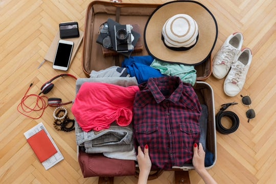 Get in the habit of putting a change of clothes and underwear in your carry-on bag.