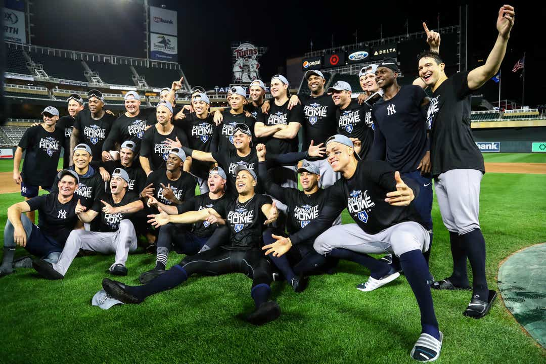 MLB playoffs: Yankees on verge of first World Series since 2009 - The Reports