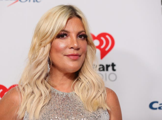 Tori Spelling opened up on Instagram about her relationship with her stepson.