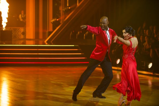 Karamo lit it up with partner Jenna Johnson.