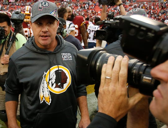 31. Redskins (31): Advice to Jay Gruden? Grab a beer — maybe invite Trent Williams — and celebrate yeoman's work after keeping this organization relevant for most of your tenure, making Kirk Cousins a star and lasting as long as you did in a volatile environment.