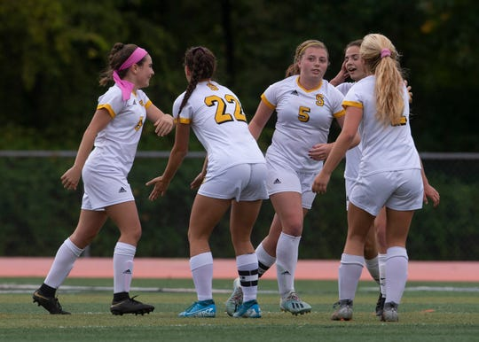 Southern Girls Soccer vs Middletown North in Middletown, NJ on October 8. 2019.