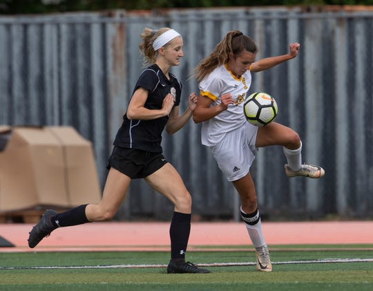 Southern Girls Soccer vs Middletown North in Middletown, NJ on October 8. 2019.
