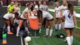 The No. 19 seed Bucs won their 1st SCT girls soccer game in many years when they upset Toms River South, 4-2, on Oct. 8, 2019