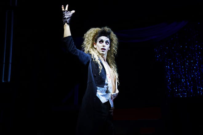 """Jordyn Linkous as """"Riff Raff"""" in 'The Rocky Horror Show,' live on stage. The show will be at an outdoor location next to Titusville Playhouse Oct. 23-31, 2020. Visit titusvilleplayhouse.com."""