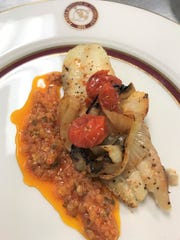Seasoned tilapia with grilled onion, tomato and African pepper sauce is on the menu for Florida Tech's International Dinner set for Thursday at Panther Dining Hall.