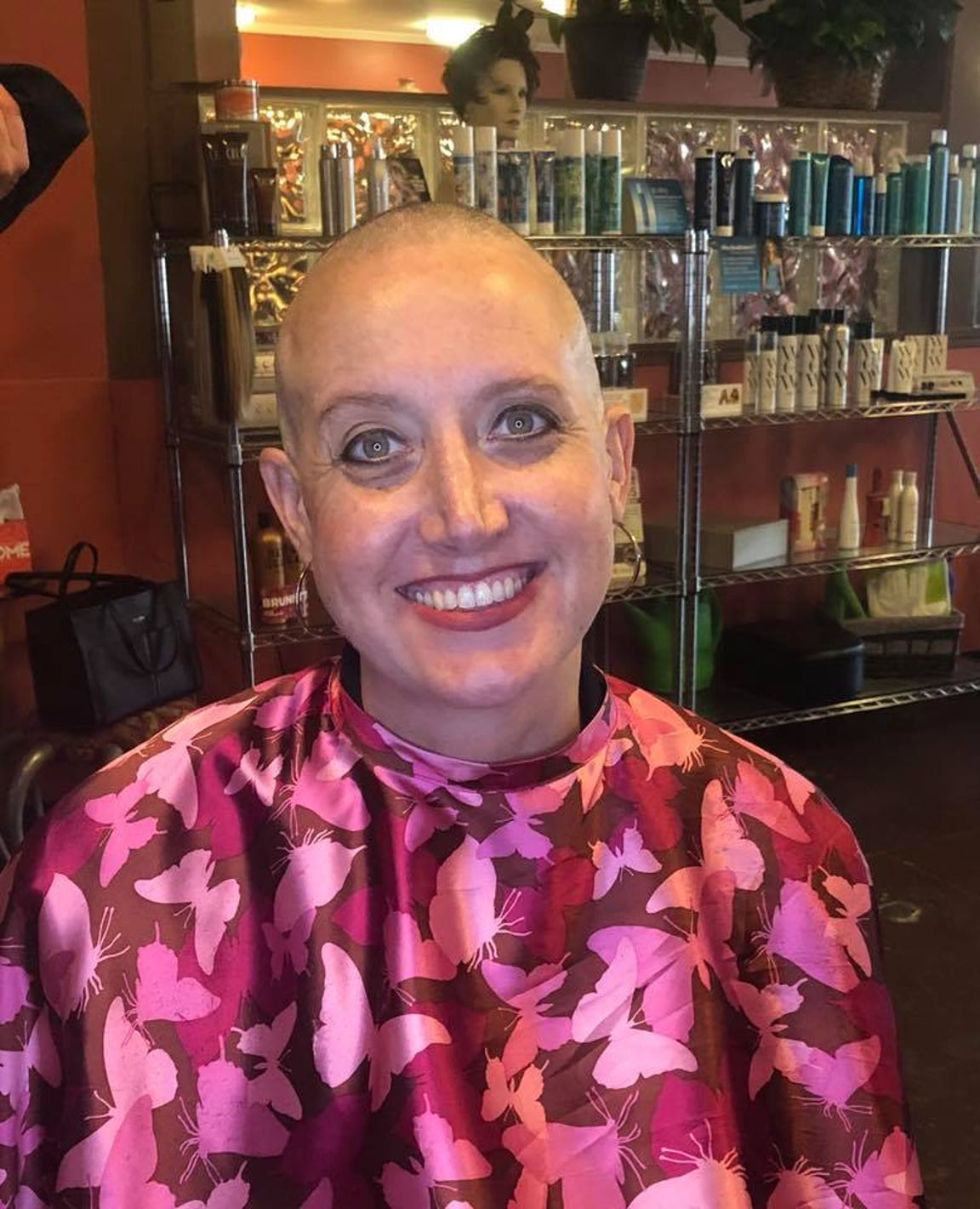 Prudence Farrell, principal of Hamlin Middle School, was was diagnosed with an aggressive form of breast cancer shortly after turning 40.