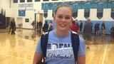 Adena volleyball defeated Westfall 3-0 tonight. Ellie Harper discussed the win over the Mustangs.
