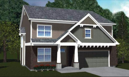 The Wellington is one of several homes John Candle Homes plans to construct in a new subdivision on the north side of Millikin Road, east of Ohio 747.