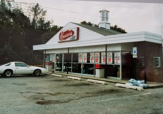 The Krauszer's convenience store on Alston Road off Route 27 where Aileen Morris was shot to death behind the counter.