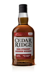 Cedar Ridge Distillery has announced changes to its flagship Iowa Straight Bourbon, including a new bottle, label and higher proof.