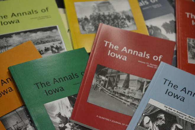 """The Annals of Iowa"" from the State Historical Society of Iowa is available in print and online."