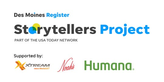 The Des Moines Storytellers Project is supported by Xtreme, powered by Mediacom; Noah's Ark; and Humana.