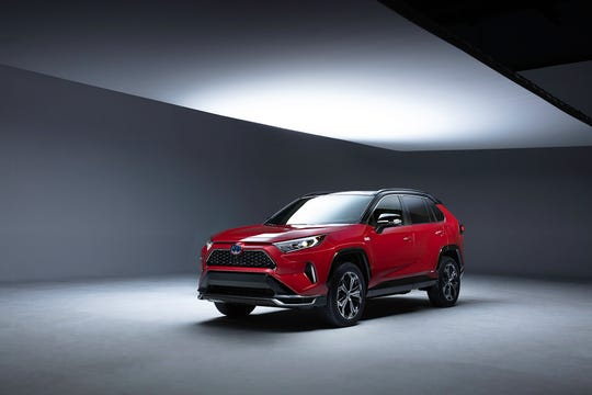 Toyota unveils RAV4 plug-in hybrid SUV, luxury Mirai fuel ...