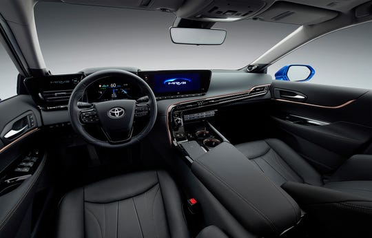 The 2021 Toyota Mirai fuel cell car will go on sale in 2020.
