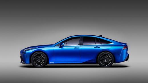 Toyota unveils RAV4 plug-in hybrid SUV, longer battery warranty, luxurious fuel cell car