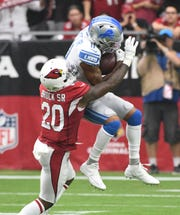 Marvin Jones Jr. leads the Lions in receiving yards through four games this season.