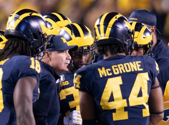 Don Brown's Michigan defense hasn't allowed a touchdown over the past two games.