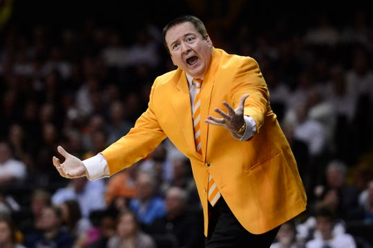 Donnie Tyndall was fired after one season as the Tennessee men's basketball coach, following an NCAA violations that surfaced from his time at Southern Miss. He's now the head coach of the Grand Rapids Drive.