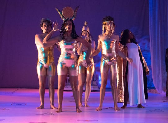 """The theater troupe A Host of People won $45,000 in the 2019 Knight Arts Challenge. The picture is from their most-recent production, """"Cleopatra Boy."""""""