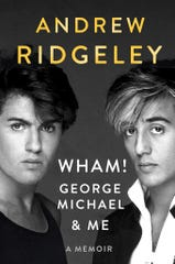 """This cover image released by Dutton shows """"Wham! Geirge Michael & Me,"""" a memoir by Andrew Ridgeley."""