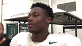 Michigan State's Elijah Collins, Brian Lewerke and Trenton Gillison talk about hitting the road to take on No. 8 Wisconsin.