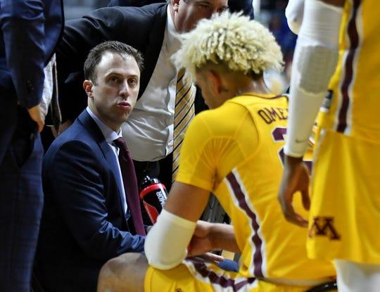 "Minnesota head coach Richard Pitino called the Califonia NIL law a ""good idea."""
