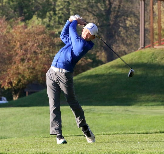 Seth Conway of Horseheads would have been a top contender to qualify for the 2020 boys golf state championship meet at Mark Twain Golf Course.