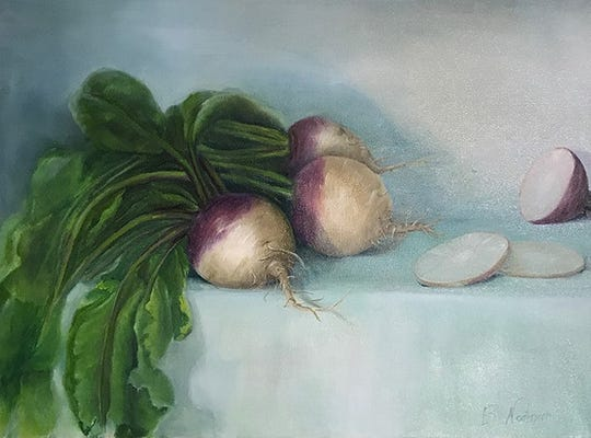 "The ""Food and Folly"" exhibit opens at the Hoosier Salon New Harmony Gallery Saturday."