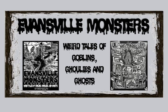 Evansville Monsters author and artist will speak at Willard Monday.