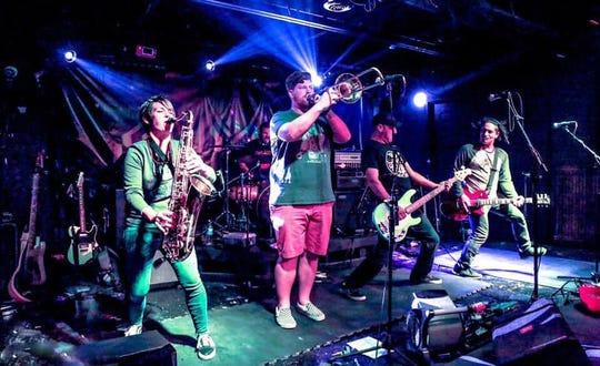 Local ska-punk band Bargain Bin Heroes