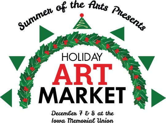 Logo for the Holiday Art Market, an event that will replace the now-canceled Holiday Thieves Market.