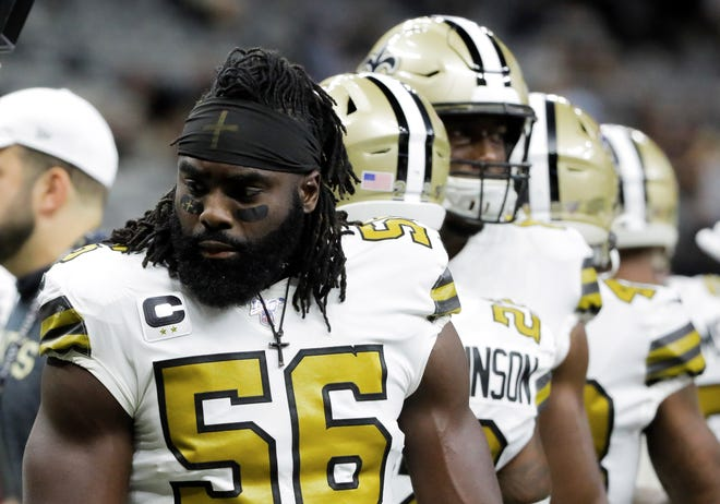 Brandon native and New Orleans Saints linebacker Demario Davis won his appeal against the NFL over wearing religious-themed headbands. He is donating the amount of the fine to St. Dominic Memorial Hospital in Jackson.