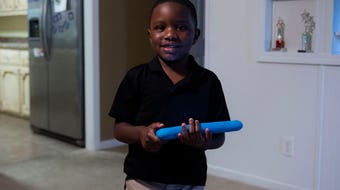 Four-year old Greyson Gross can read anything in front of him, he isn't shy and not many can tell that he has autism.