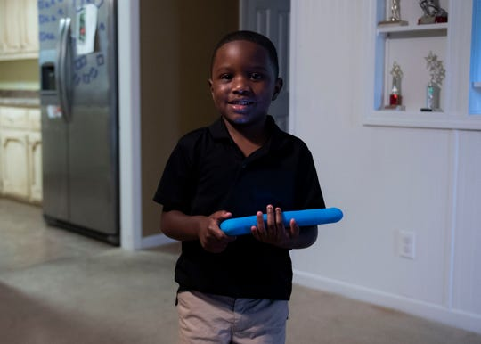 Greyson Gross is 4-years-old and has autism. He excels at skills like reading and spelling that surpasses his peers.