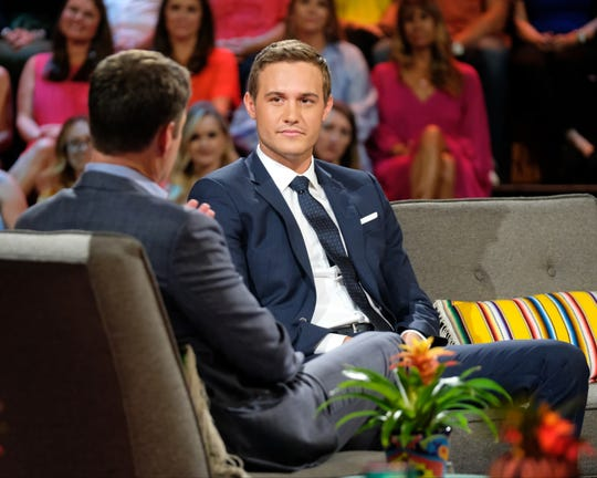 "Peter Weber, 28, is the next star of ""The Bachelor."" Starting in January, 30 women will compete for the final rose and hope to get engaged to Weber at the end of the show."