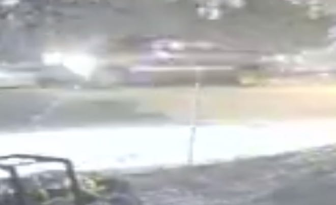 Lafayette Police investigators are searching for the driver of this truck. It was seen driving south on Acadian Hills Lane around the time a 19-year-old on a bike was killed in a hit-and-run accident.