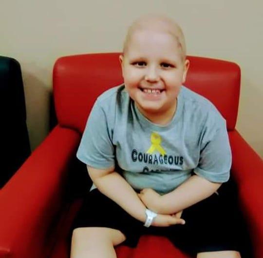 Carter Matthew Willett, aka Courageous Carter, has been battling a rare form of cancer for the last year.