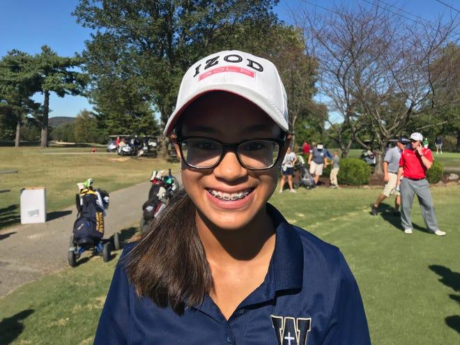 Whitefield Academy golfer Jenna Estravillo