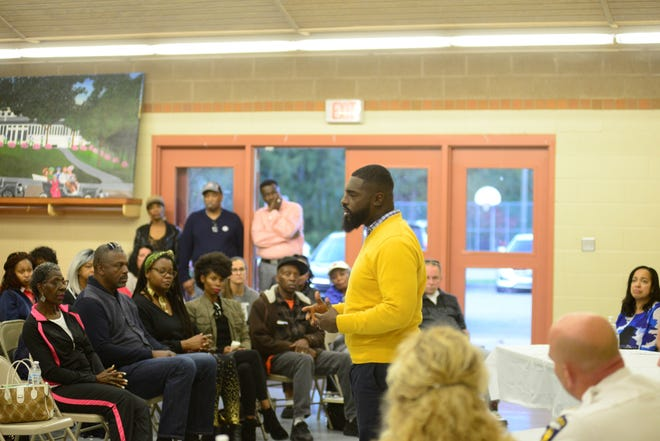 Fourth Ward Councilman Alomar Davenport has played an organizing role to form a code of conduct between police and the community.