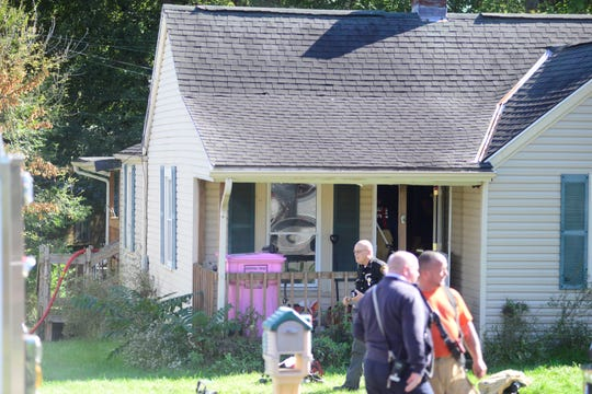 One man was taken to the hospital after Madison Township firefighters found him inside a house in the 1300 block of Ohio 430 on Wednesday afternoon.