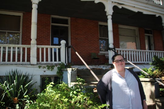 Ashley O'Bryan is one of the founders and tour guides of Haunted Marion Tours. The October event is now in its second year of operation, O'Bryan said. The 2-mile walking tour begins and ends on Bradford Street. O'Bryan and other guides share spooky stories about Marion along the route.