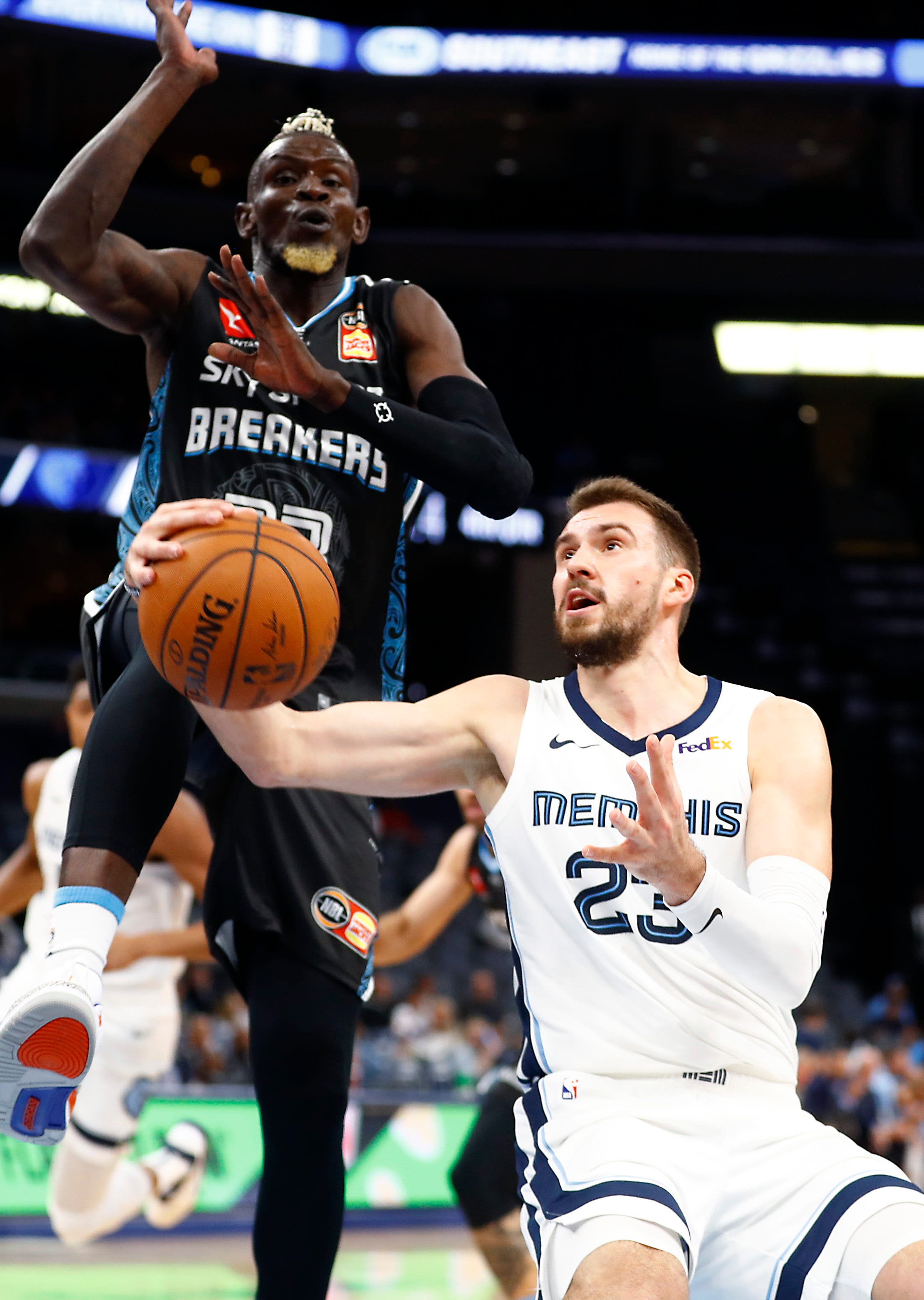 How a childhood of terror and triumph shaped Memphis Grizzlies wing Marko Guduric