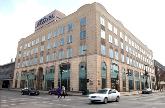 The property tax bill for the Milwaukee Journal Sentinel building is delinquent because of two late monthly installment payments.