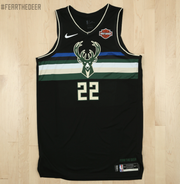 "The Milwaukee Bucks unveiled their new ""Statement"" edition jersey on Wednesday."