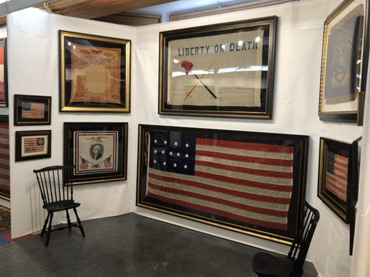 Bob Lang's Lincoln, Washington and Original Historic U.S. Flags Collection is on display through Nov. 17 at St. John's Northwestern Military Academy in Delafield.
