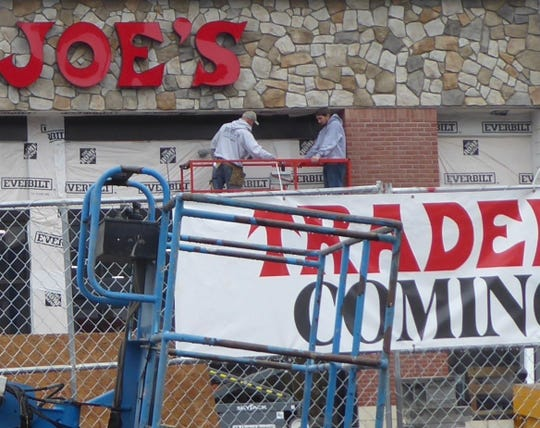Trader Joe's readies its new Shoppes at Union Hill, Denville location for an Oct. 25 opening.